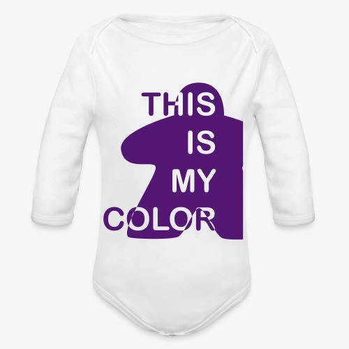 That is my Color - Økologisk langermet baby-body