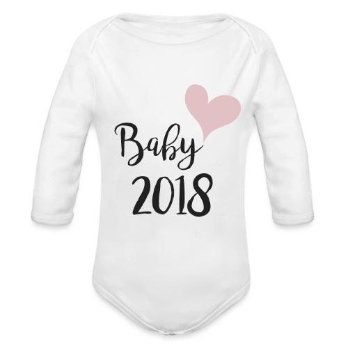 Baby 2018 - Baby Bio-Langarm-Body