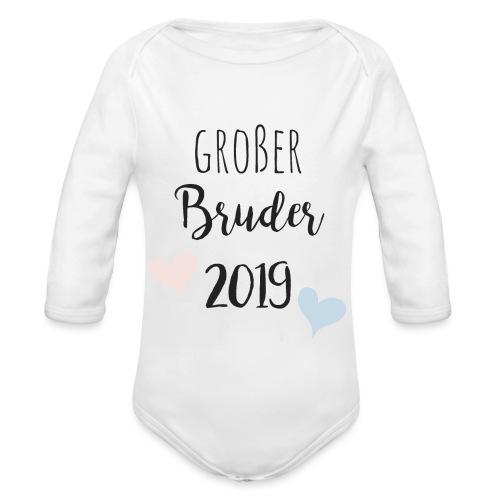 Großer Bruder 2019 - Baby Bio-Langarm-Body