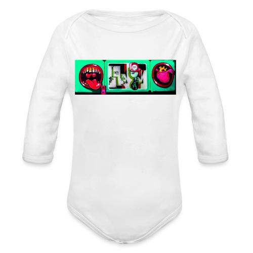Toxin Rogue - Langærmet babybody, økologisk bomuld