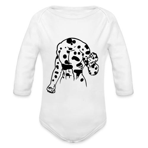 Omgjord för tryck vä png - Ekologisk långärmad babybody
