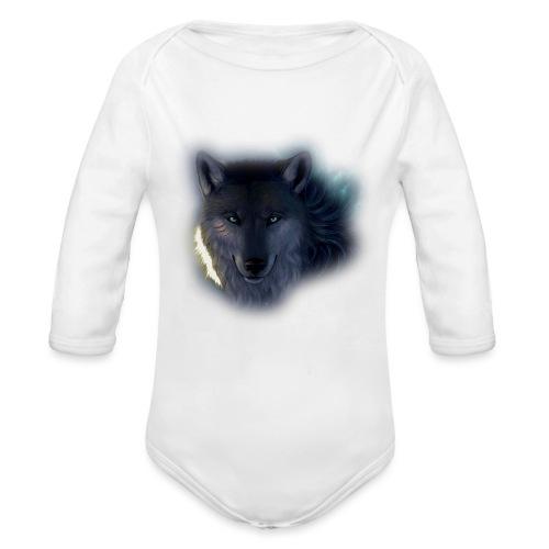 Felpa Wolf - Organic Longsleeve Baby Bodysuit