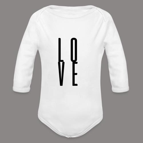 love - Baby Bio-Langarm-Body
