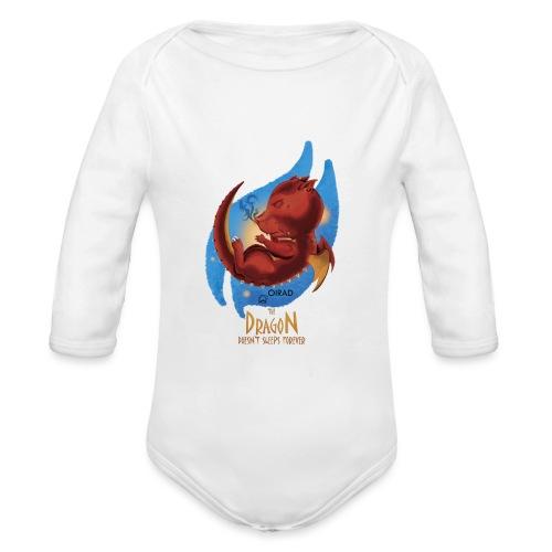 Draco Dormiens - Body ecologico per neonato a manica lunga