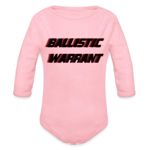 BallisticWarrrant - Baby bio-rompertje met lange mouwen