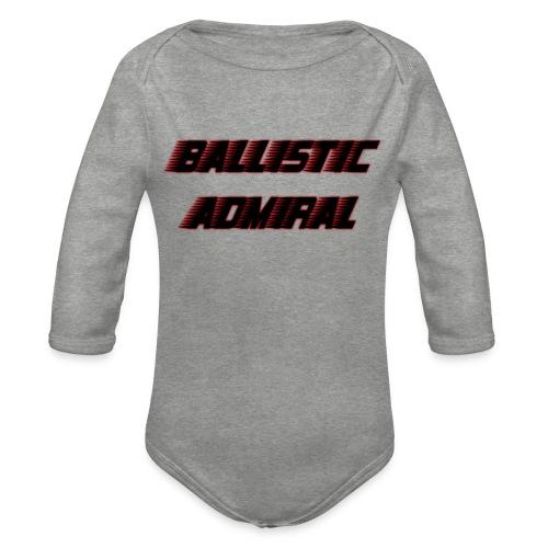 BallisticAdmiral - Baby bio-rompertje met lange mouwen