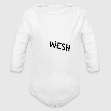 Beh wesh - Organic Longsleeve Baby Bodysuit