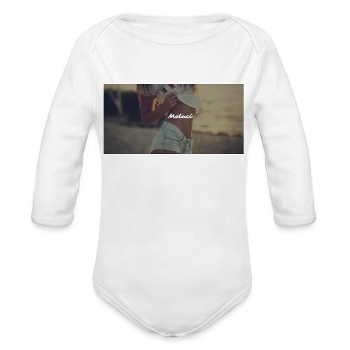 Melaci Baby First - Baby bio-rompertje met lange mouwen