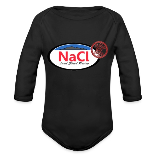 Logo NaCl - Body Bébé bio manches longues