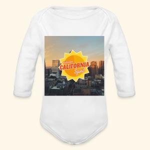 California Spirit City - Body bébé bio manches longues