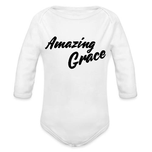 Amazing grace - Body Bébé bio manches longues