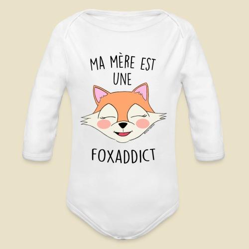FoxAddict - Body Bébé bio manches longues