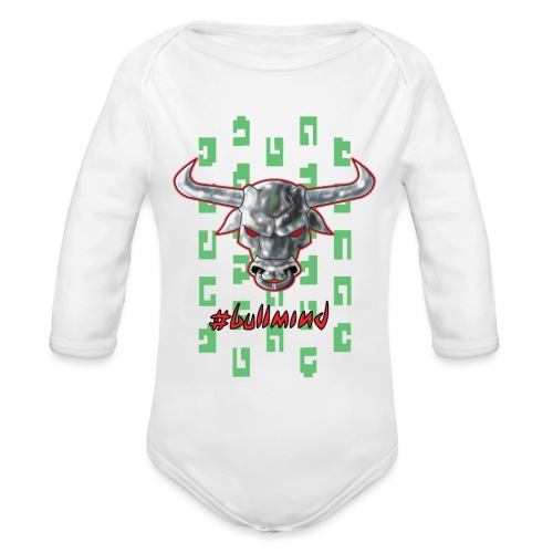 Taurus metal - Body ecologico per neonato a manica lunga