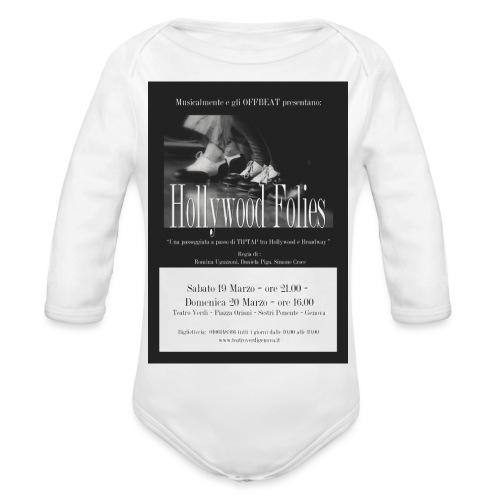 Locanfina - Body ecologico per neonato a manica lunga