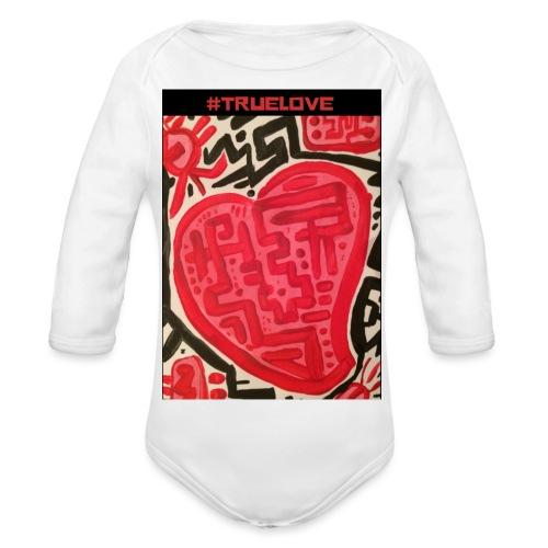 #truelove - Organic Longsleeve Baby Bodysuit