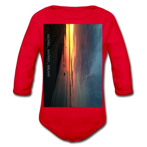 SALTHILL GALWAY - Organic Longsleeve Baby Bodysuit