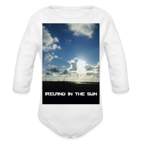 IRELAND IN THE SUN 2 - Organic Longsleeve Baby Bodysuit