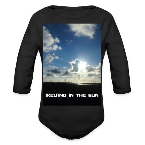 IRELAND IN THE SUN 2 - Organic Longsleeve Baby Bodysuit