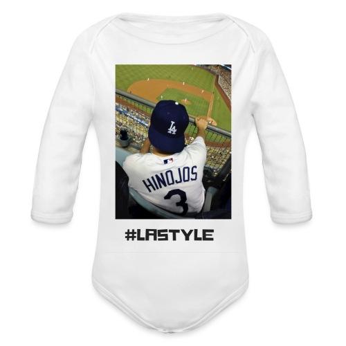 L.A. STYLE 1 - Organic Longsleeve Baby Bodysuit