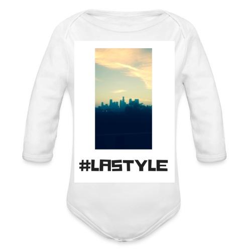 LA STYLE 3 - Organic Longsleeve Baby Bodysuit
