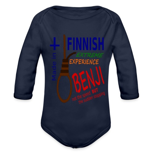FINNISH-BENJI - Organic Longsleeve Baby Bodysuit