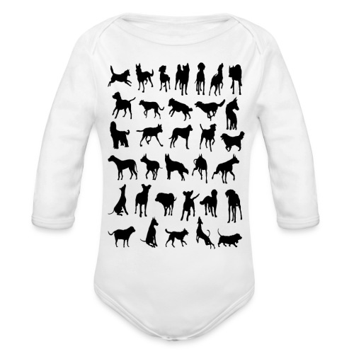 - Dogies - - Body orgánico de manga larga para bebé
