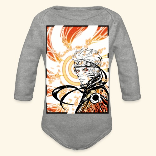 Manga - Organic Longsleeve Baby Bodysuit