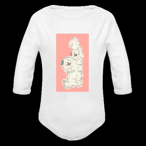 Doggos - Baby Bio-Langarm-Body