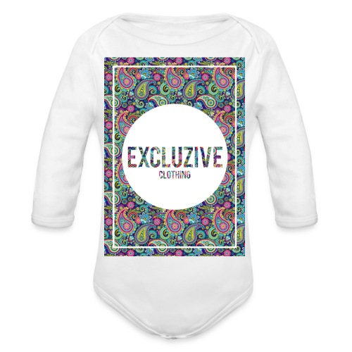 Colour_Design Excluzive - Organic Longsleeve Baby Bodysuit