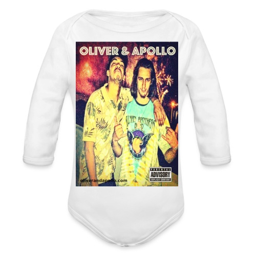 Oliver and Apollo Merchandise Round One! - Organic Longsleeve Baby Bodysuit