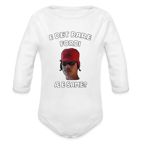 Sameskjorta - Økologisk langermet baby-body
