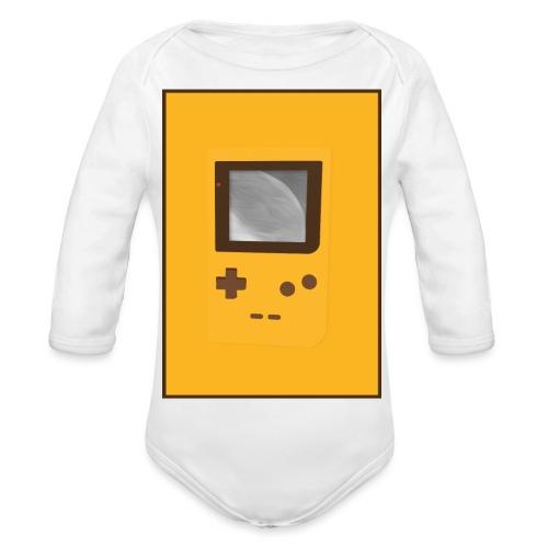 Game Boy Nostalgi - Laurids B Design - Langærmet babybody, økologisk bomuld