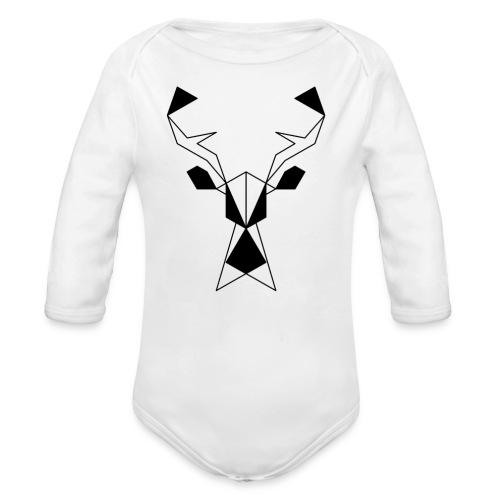 Jeleń #1 - Ekologiczne body niemowlęce z długim rękawem
