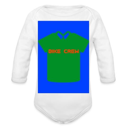 Bike Crew Merch (grün) - Baby Bio-Langarm-Body