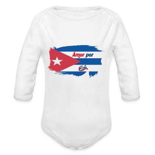 Amor Por Cuba - Body ecologico per neonato a manica lunga