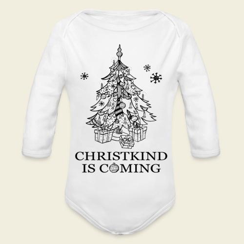 Christkind kommt - Baby Bio-Langarm-Body