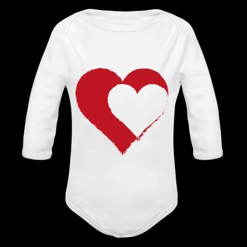 2LOVE - Organic Longsleeve Baby Bodysuit