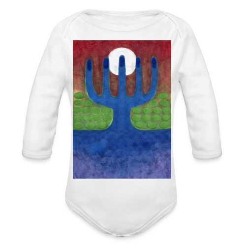 Oaza - Ekologiczne body niemowlęce z długim rękawem