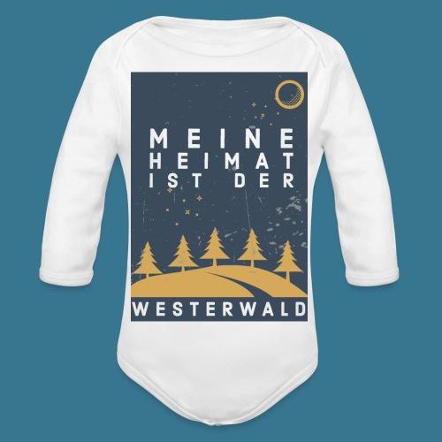 Heimatliebe Westerwald - Baby Bio-Langarm-Body