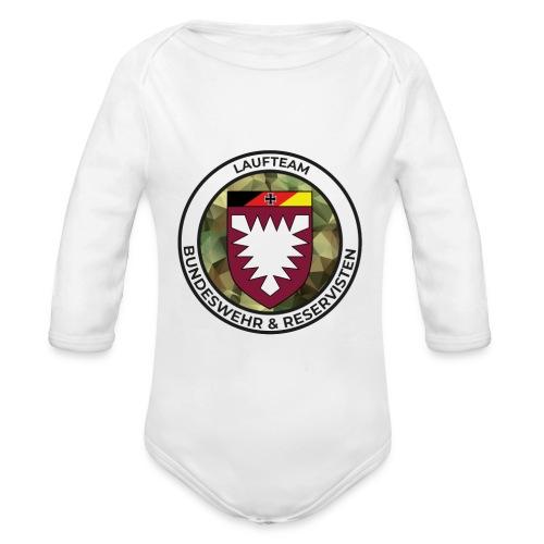 Logo des Laufteams - Baby Bio-Langarm-Body