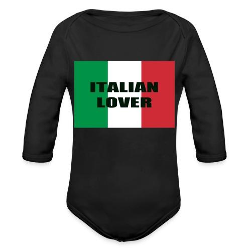 ITALIAN LOVER - Body ecologico per neonato a manica lunga