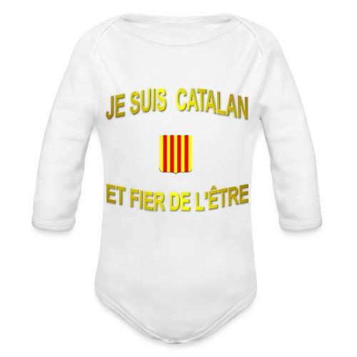 Dessous de verre à l'emblème du PAYS CATALAN - Body Bébé bio manches longues