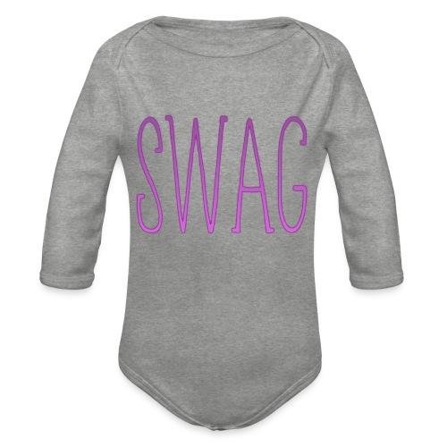 Swag - Body Bébé bio manches longues