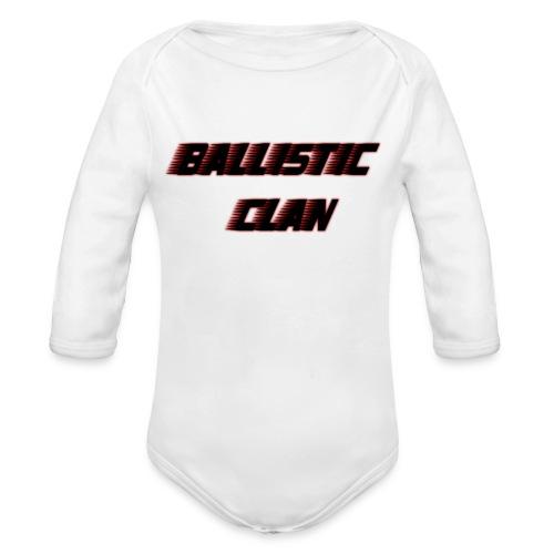 BallisticClan - Baby bio-rompertje met lange mouwen