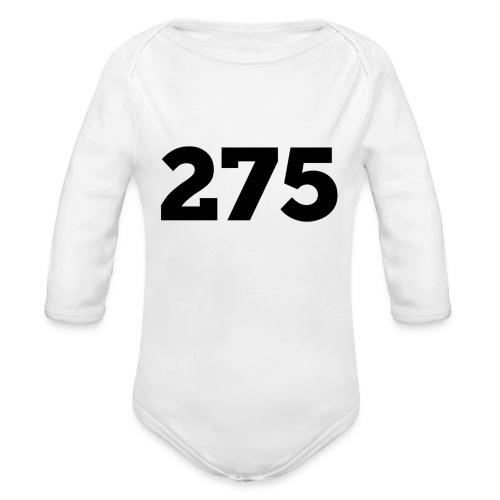 275 - Organic Longsleeve Baby Bodysuit