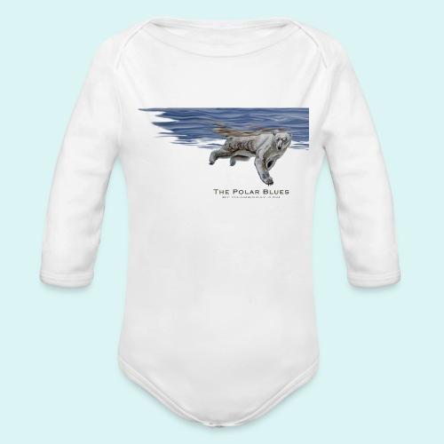 Polar-Blues-SpSh - Organic Longsleeve Baby Bodysuit