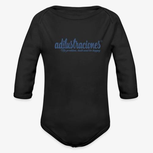 adilustraciones - Body orgánico de manga larga para bebé