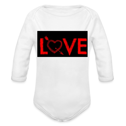 Baby's Love Dream Wear - Organic Longsleeve Baby Bodysuit