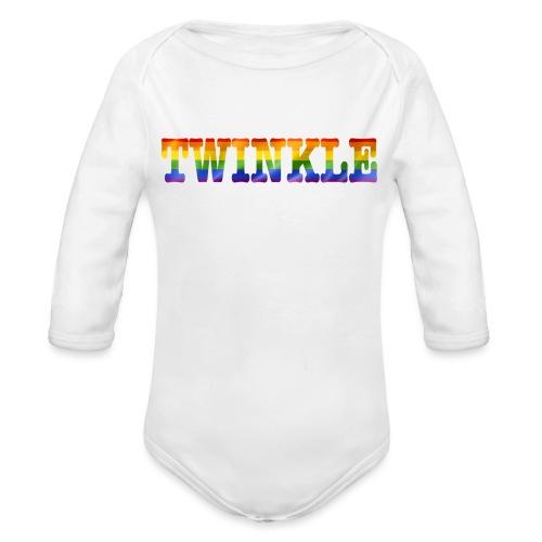 twinkle - Organic Longsleeve Baby Bodysuit