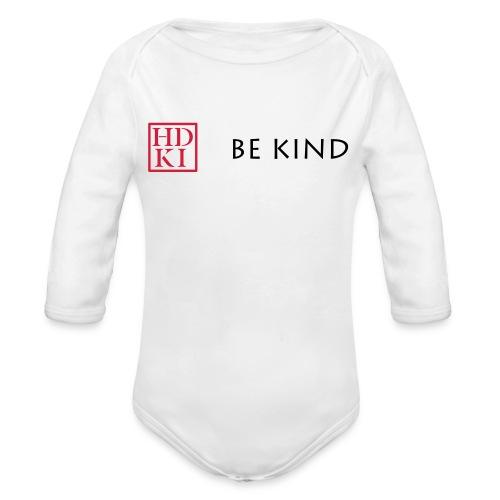 HDKI Be Kind - Organic Longsleeve Baby Bodysuit